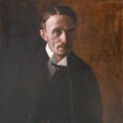 Rudnay Gyula: Jani öcsém (1920), olaj, vászon, 90x64 cm