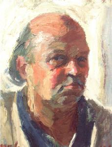 Makay József potré